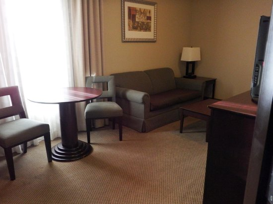 Holiday Inn Express Crystal River : Queen Pull Out Couch in Room 422