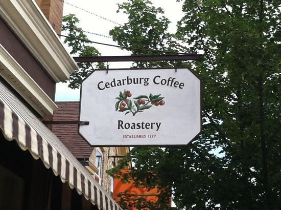 Cedarburg Coffee Roastery: fabulous coffee, wonderful ambiance, amazing cookies & baked goods!