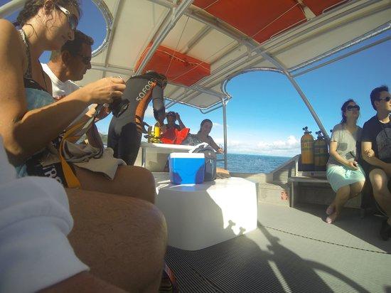 TOPDIVE Bora Bora : The dive boat