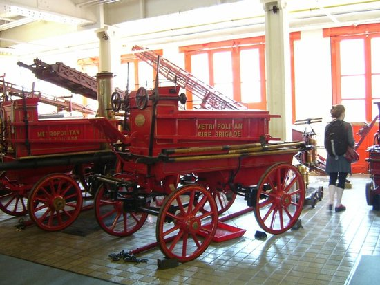 The London Fire Brigade Museum: Inside the Engine Room