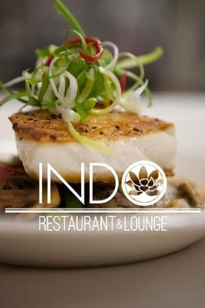 INDO Restaurant & Lounge : INDO's signature chilean sea bass with a rice wine and sesame sauce