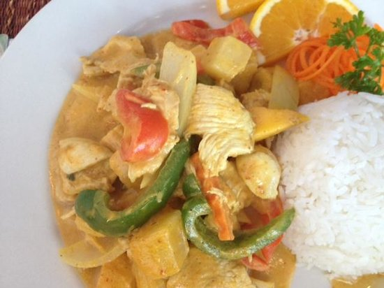 Tom Can Cook: Mango Curry Chicken
