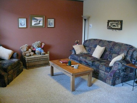 Summit View Lodge: Living room