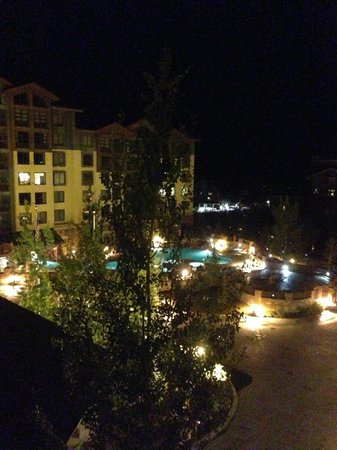 Grand Summit Hotel: view from balcony