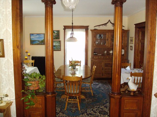 Haven Guest House Bed & Breakfast: Dining Room