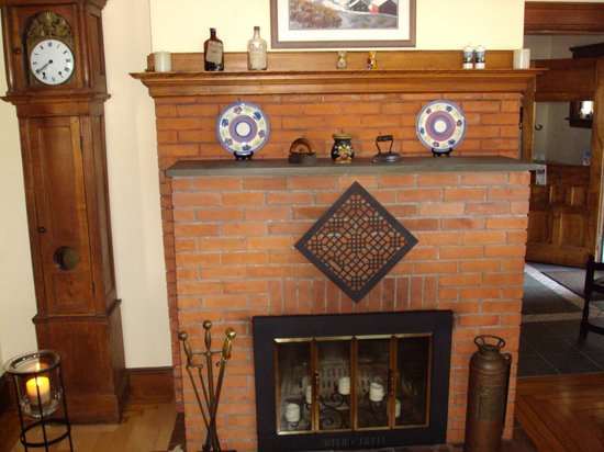Haven Guest House Bed & Breakfast: Fireplace