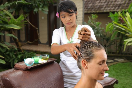 Bhisma Spa: hair treatment