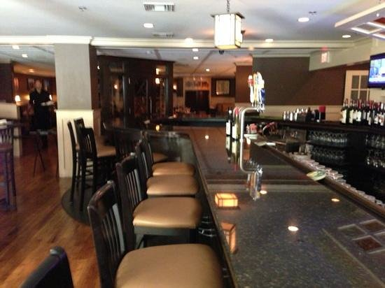 Mazzeo's Ristorante Catering & Home Made Pasta : View from the bar.