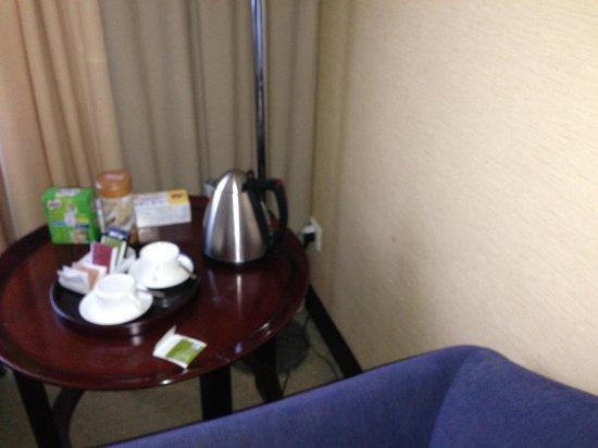 Parklane Chang'an International Hotel : Inconvenient power socket locations
