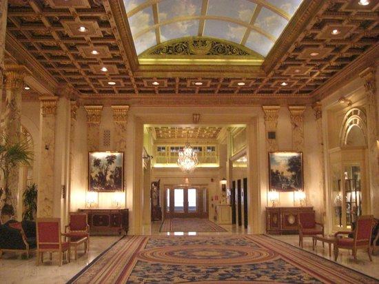 Fairmont Copley Plaza, Boston: Hotel Lobby