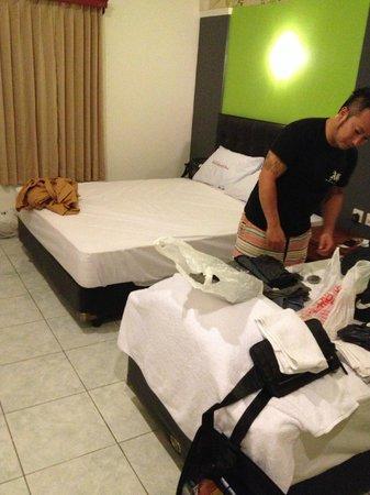 Sandat Hotel Kuta: お部屋です