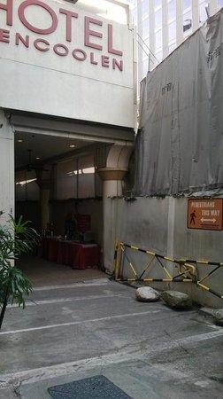 ingresso hotel bencoolen