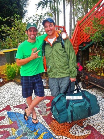 On The Wallaby Backpackers Lodge: About to hit the road
