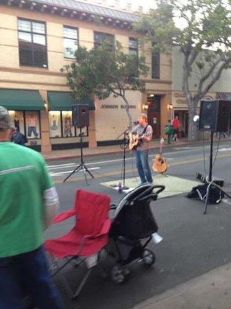 Farmers Market: street performance