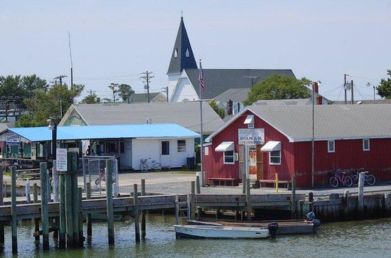 Tangier Island: First glimpse of the island