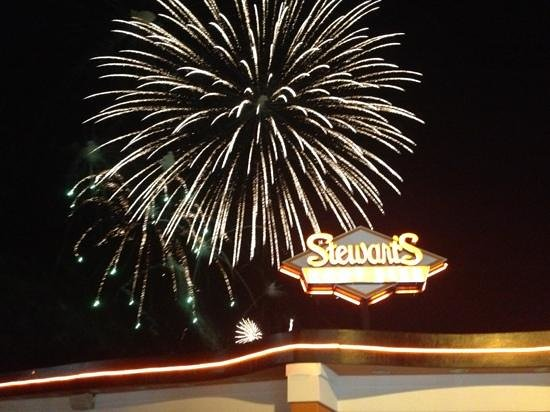 Stewart's Root Beer: Friday night fireworks