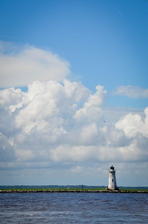 Captain Mike's Dolphin Tours : lighthouse