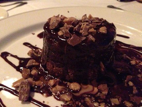 Chart House : chocolate lava cake