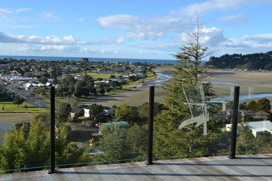 Sunlover Retreat: View over Tairua