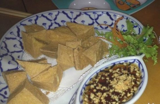 Thai Thai Restaurant: Fried tofu