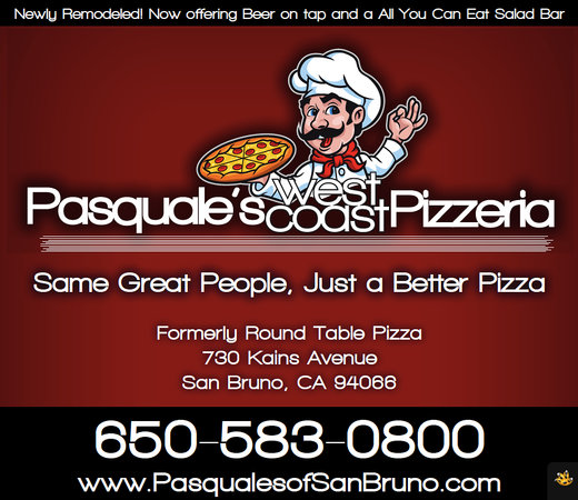 Pasquale S West Coast Pizzeria San Bruno Restaurant Reviews Photos Phone Number Tripadvisor