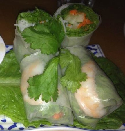 Thai Thai Restaurant: Fresh Spring roll