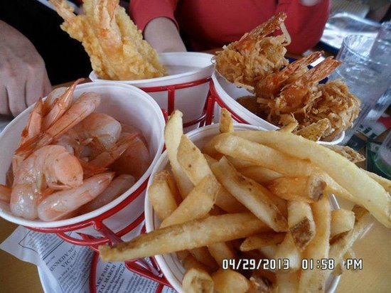Bubba Gump Shrimp Co. : mixture style shrimp