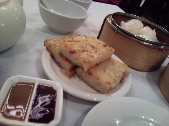 Jade Fountain: VERY GOOD Pan-fried Radish Cake