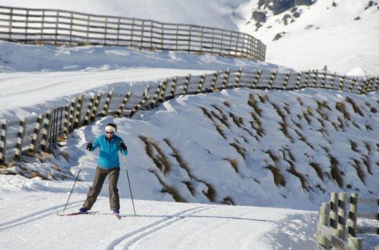 Snow Farm: Skate skiing at SnowFarm