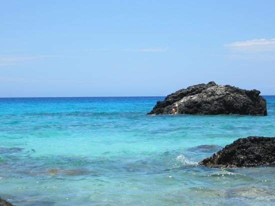 Manini'owali Beach (Kua Bay): blue waters