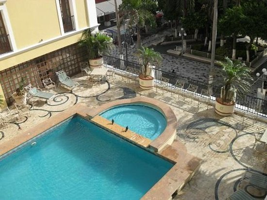 Terraza Y Alberca Picture Of Gran Hotel Diligencias