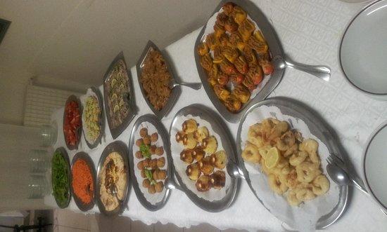 Hotel Sabrina: il buffet