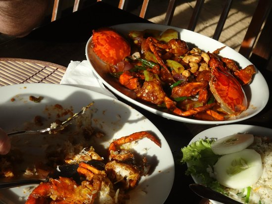 Catalina Grill : Baked crab
