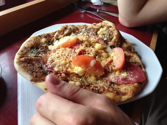 Small Talk Het Restaurant : pizza