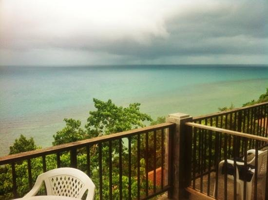 Blue Hill Beach Resort: balcony view