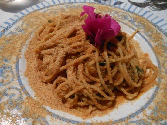 Ristorante Punta Lena: Spaghetti alla strombolana
