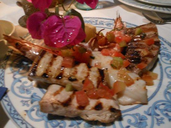 Ristorante Punta Lena: Grigliata mista di pesce