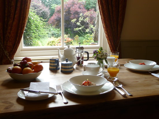 Croft House : Choose from a selection of breakfasts, including a hearty Yorkshire breakfast or continental for