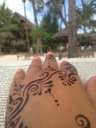 Samaki Lodge & Spa: leggere un libro nell'oasi