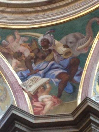 St. Kopecek Church and Monastery: ceiling fresco
