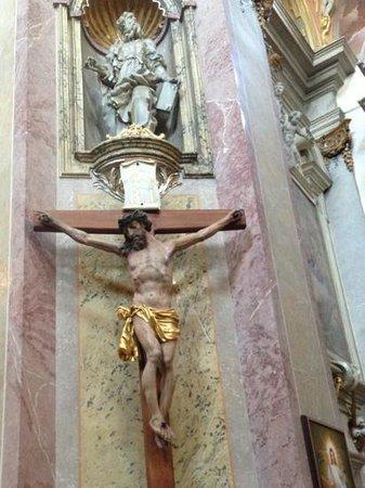St. Kopecek Church and Monastery: The Cross