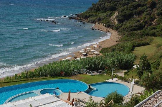 Mare Dei Ionian Hotel & Resort: vue reception