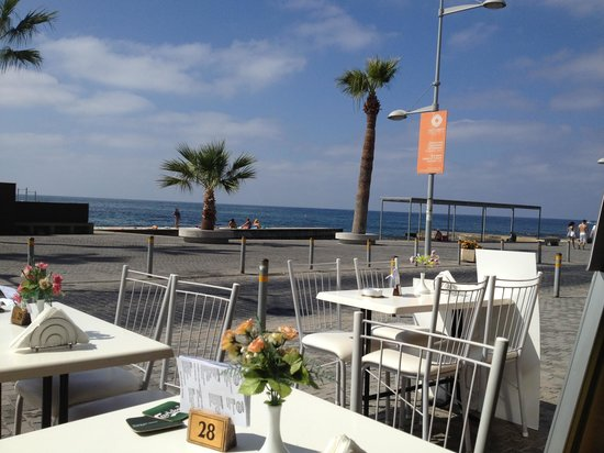 Camares Cafe Bar Restaurant: Great food with a stunning view