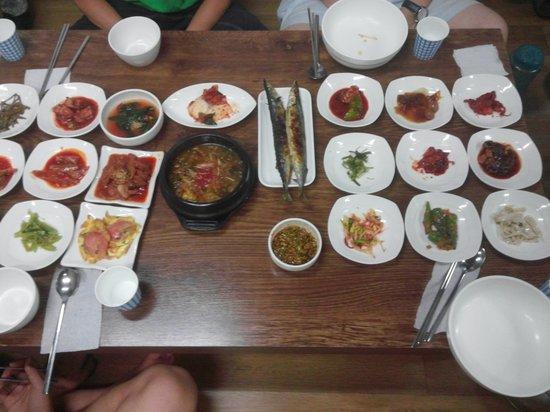 Jeongseon-gun, South Korea: food