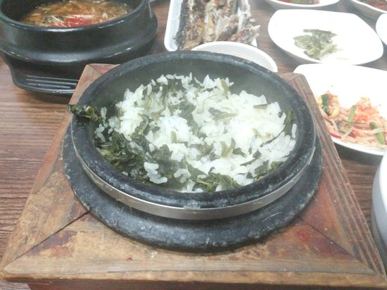 Jeongseon-gun, South Korea: Cirsium setidens Dolsotbap
