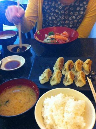 Matsuri: Dumplings and Kaisen don