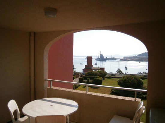 Maeva Résidence Les Jardins de la Côte d'Azur : Terrazza della camera