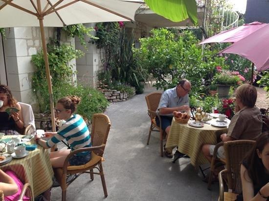 Hotel Diderot: terrasse