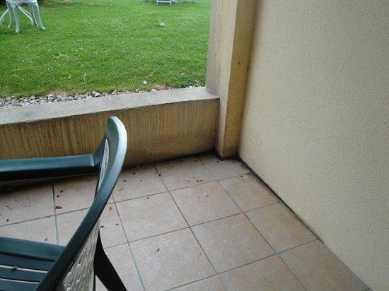 Hotel Les Nevons : il terrazzo