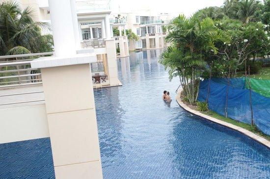Blue Lagoon Resort Hua Hin: from the balcony